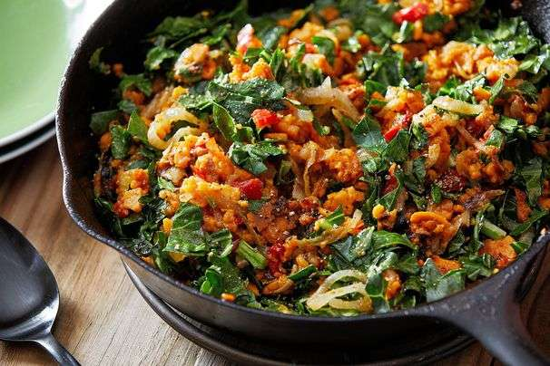 One-pan dinners, from summery skillet pasta to spicy red shakshuka