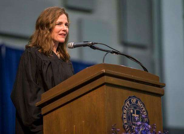 What Amy Coney Barrett actually said about election-year Supreme Court vacancies