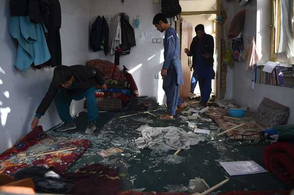 A Kabul student survived an attack on his classroom. Two years later, his brother died in a suicide bombing at the same place.