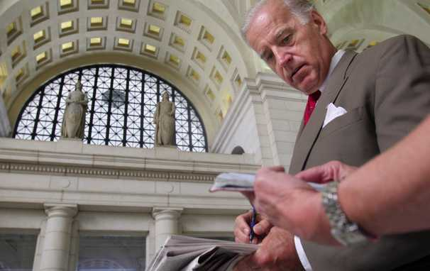 Americans' debts are mounting, putting new focus on Biden's role opposing bankruptcy protections