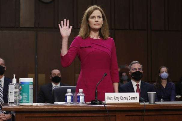 Amy Coney Barrett was criticized for her dress, part of a long history of judging women's clothes