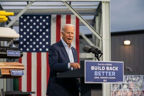 Biden targets Trump voters in Pennsylvania with message of economic recovery, unity