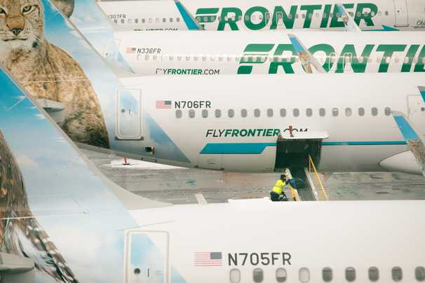 Frontier Airlines pushes ahead, with some success, despite pandemic