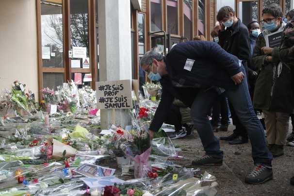 Gruesome details emerge in beheading of French teacher who showed students Muhammad cartoons
