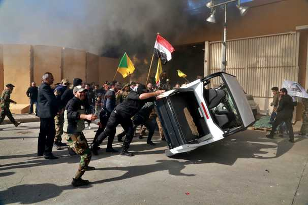 Iran-backed militias announce 'conditional' cease-fire against U.S. in Iraq