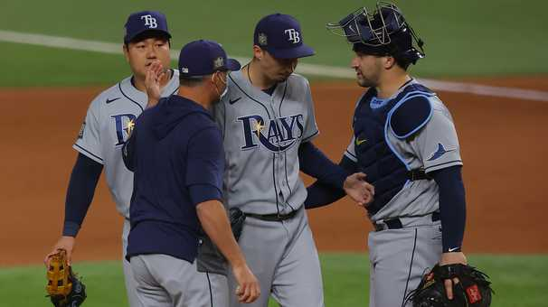 Kevin Cash pulled Blake Snell, the Rays' hopes went south, and the humans reclaimed baseball's soul