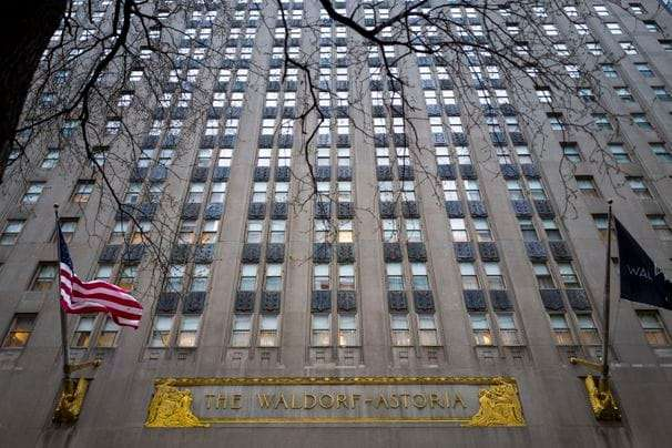 Missing the Waldorf Astoria? Take home a piece of the historic NYC hotel.