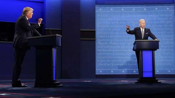 More than 73 million people watched that crazy presidential debate