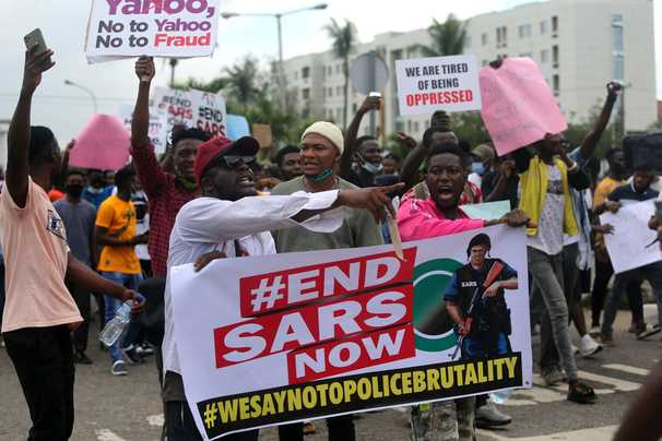 Nigeria abolishes special police squad after nationwide protests