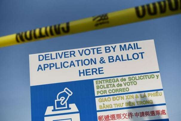 Texas governor's limit on drop-off sites for mail-in ballots criticized as voter suppression