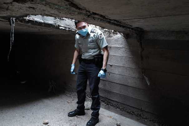 Under the U.S.-Mexico border, miles of tunnels worth millions of dollars — to traffickers