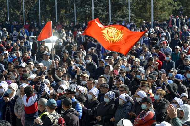 With unrest on all sides, Russia's regional muscle is being tested