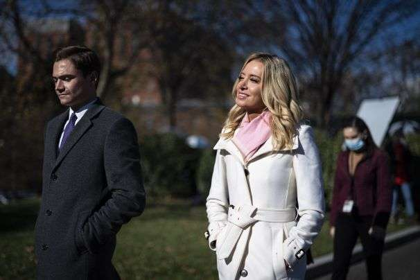 Kayleigh McEnany's peculiar complaint about coverage of Biden's all-female press team