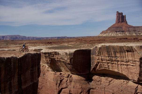 On mountain bikes in the Utah desert, a college reunion like no other