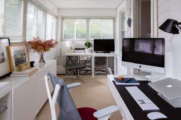 Sharing a home office with your partner? Here's how to keep the peace.