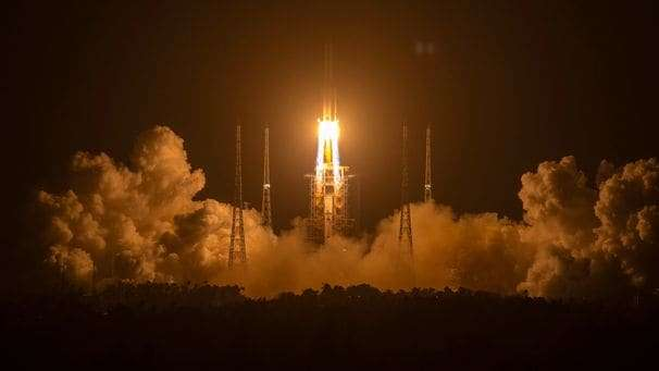 China lands a spacecraft on moon for third time, continuing ambitious exploration push
