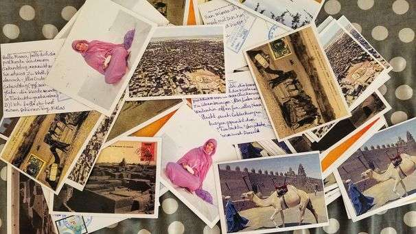 Not getting any travel postcards? A project in Mali delivers delight — and a lifeline.