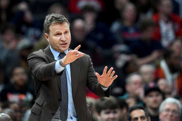 Scott Brooks has three weeks to make the pieces fit around John Wall and Bradley Beal