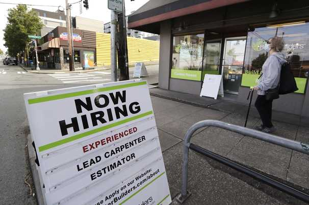 U.S. hiring slowed in November as covid-19 cases surged, ADP report says