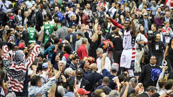 Wall gave the Wizards their last great memory. Then it all fell apart.