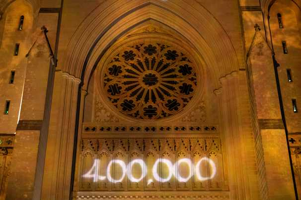 400,000 dead. Never forget these precious lives lost.