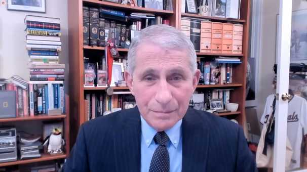 Fauci praises WHO leadership in coronavirus pandemic, signaling break from Trump era