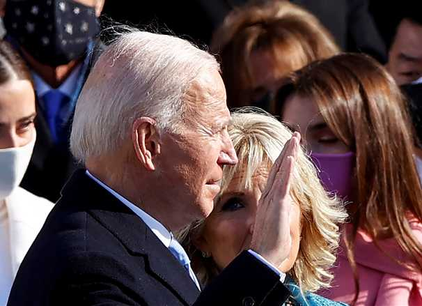 In his speech, Biden helps us believe he can make our rusty system work