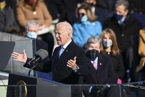 Joe Biden's inauguration speech transcript, annotated