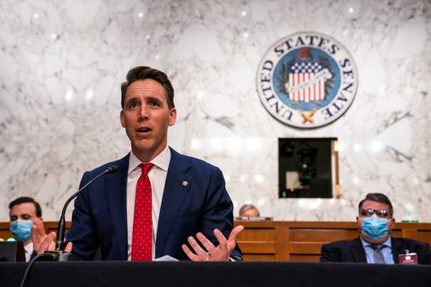 Josh Hawley's heedless ambition is a threat to the republic