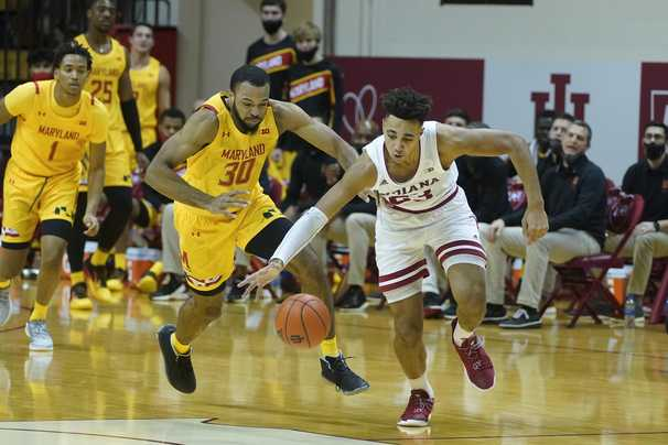 Maryland men fade in second half, and Big Ten struggles continue against Indiana