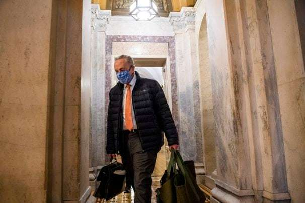 Uncertainty reigns in Senate as Schumer pushes fast agenda and McConnell calls out Trump