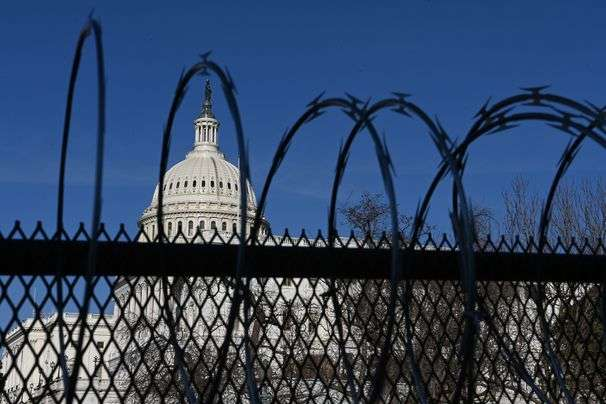 At least take down the razor wire: D.C. residents, lawmakers chafe at Capitol fence