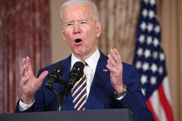 Biden pledges to reassert U.S. leadership in global diplomacy and welcome talks with Iran