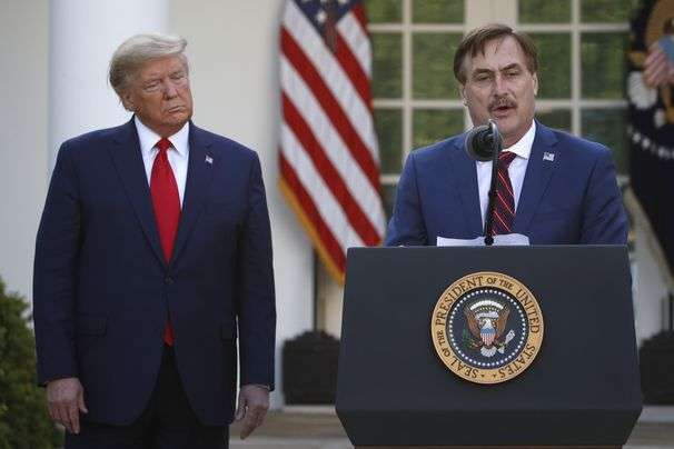 Mike Lindell made his bed with Trump's bogus conspiracies. Now, he gets to lie in it.