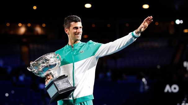 Novak Djokovic, still dominant at the Australian Open, claims his 18th Grand Slam singles title