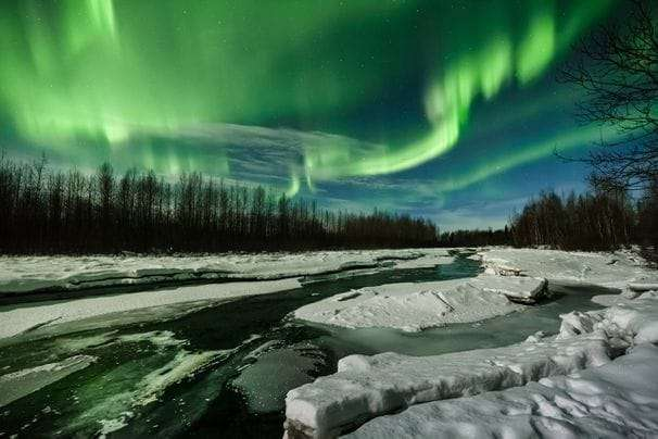 The aurora borealis skipped this Alaska photography class. But some swinging light cords saved the night.