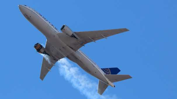United Airlines to ground some Boeing 777 planes amid FAA investigation of Saturday's Denver engine failure incident