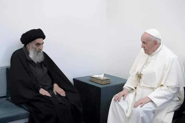 In Iraq, Pope Francis holds historic talks with Shiite ayatollah, decries religious violence at ancient Ur