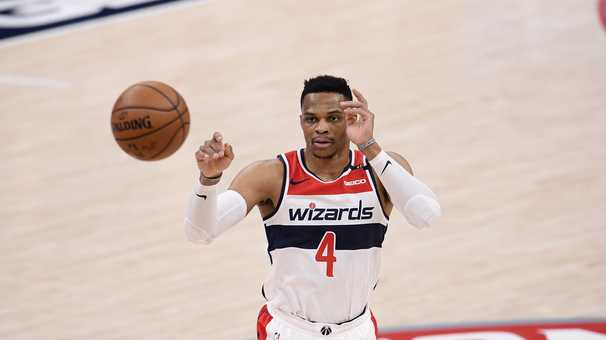 Russell Westbrook, warts and all, has the Wizards looking good at the all-star break