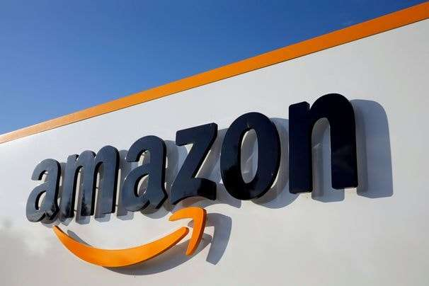 Some saw Hitler's mustache in Amazon's new logo. Then Amazon made it more square.
