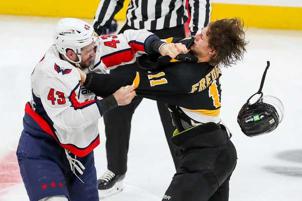 The NHL will hold a hearing on Tom Wilson's hit on Boston's Brandon Carlo