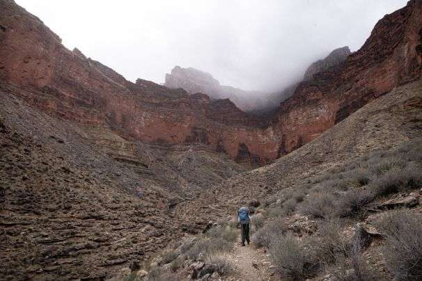 A father-son backpacking trip in the Grand Canyon is an introduction to adventure