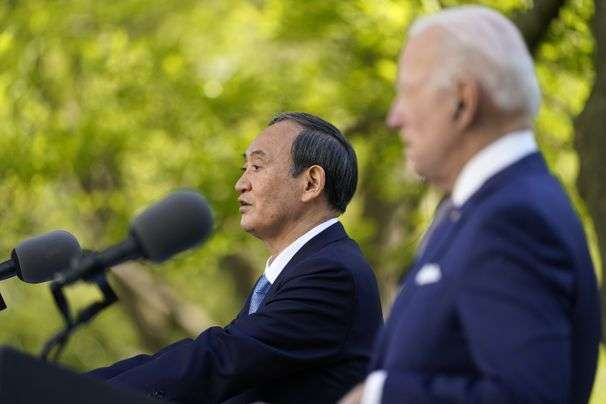 Biden hosts Japan's Suga as first foreign leader at the White House