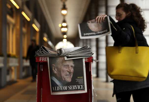 Britain mourns Prince Philip with traditions upended by pandemic