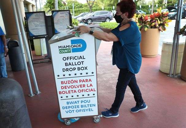 Florida legislature approves measure that curbs mail voting and use of drop boxes