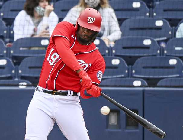 For the Nationals, Josh Bell and Kyle Schwarber can't debut soon enough
