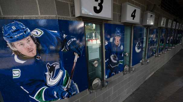 For the Vancouver Canucks and the NHL, a brutal reminder of the virus's grip