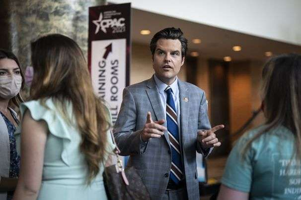 Gaetz is said to have boasted of his 'access to women' provided by friend charged in sex-trafficking case