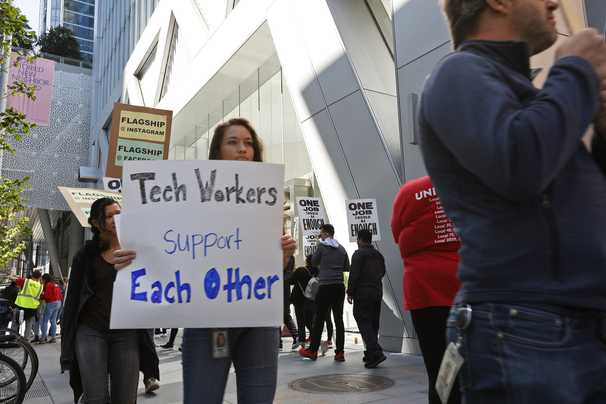 Google workers are asking the company to bar known harassers from managing others