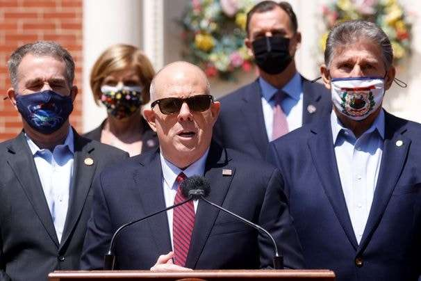 Hogan convenes governors, centrist members of Congress to talk infrastructure